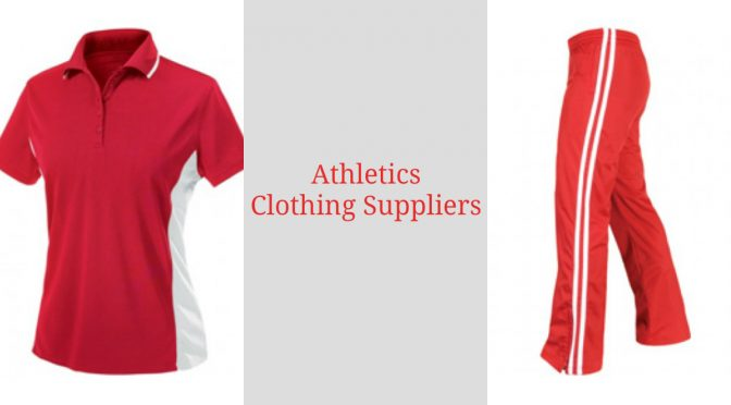 athletics clothing suppliers