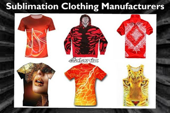 sublimation clothing manufacturers