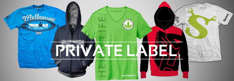 private label wholesale clothing manufacturers