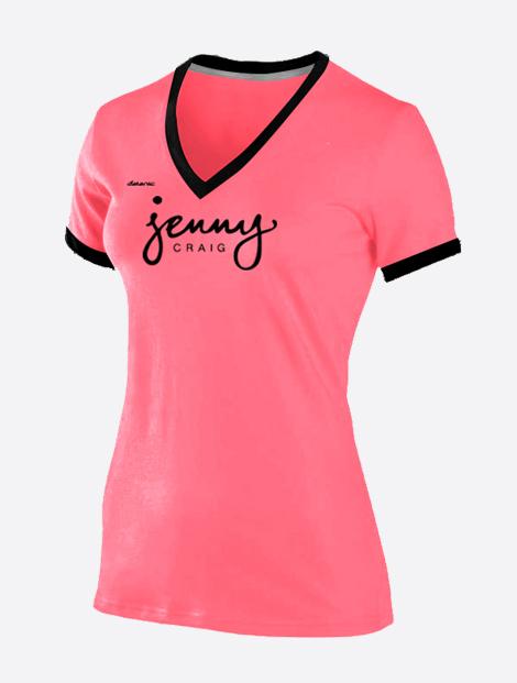 Hot Pink Jenny Craig T Shirt