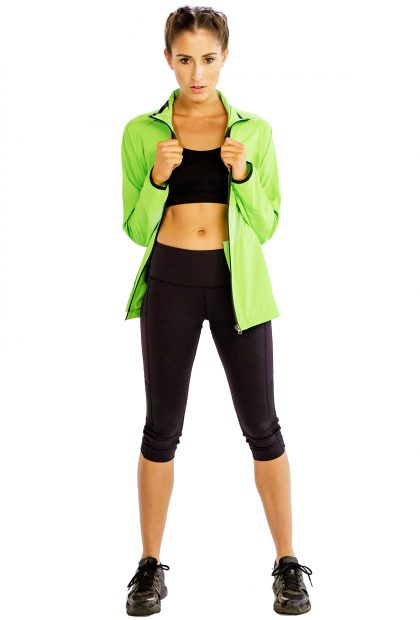 Vibrant Green Jacket for Women