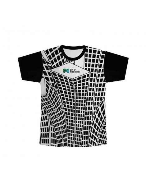 Sublimated striped tee