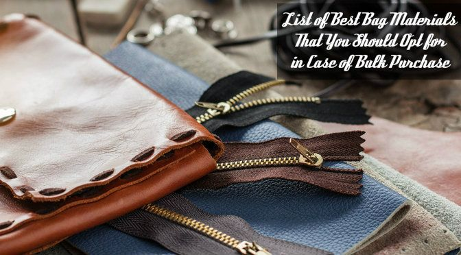 Best Bag Manufactures