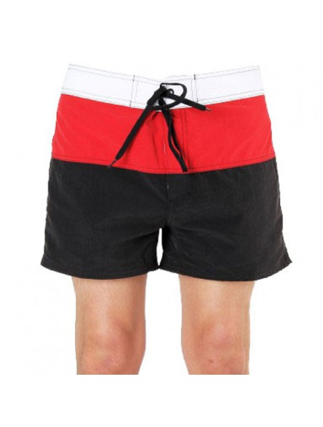 Wholesale Black and Red Beach Men's Shorts Manufacturer