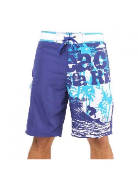 Wholesale Fashionable Blue Beach Men's Shorts Manufacturer