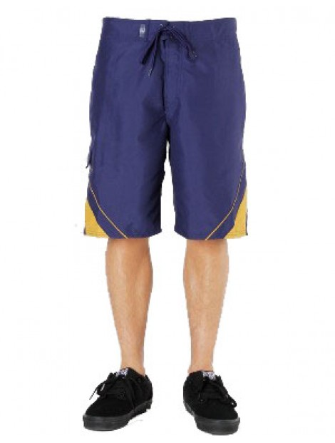 Wholesale Loose Fitting Blue Beach Men's Shorts Manufacturer