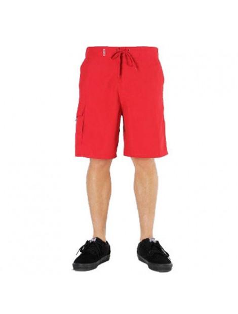 Wholesale Radiant Red Beach Men's Shorts Manufacturer