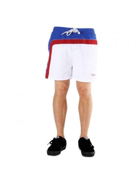 Wholesale Enticing White Beach Men's Shorts Manufacturer