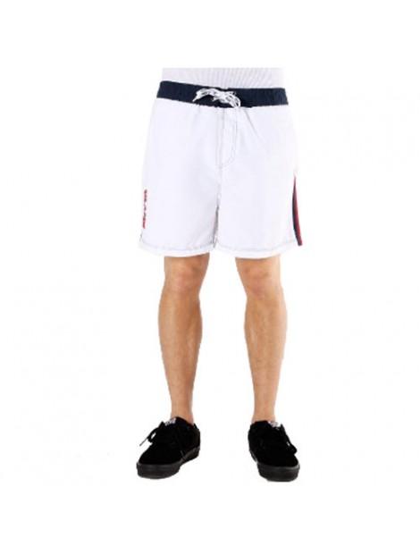 Wholesale Pure White Beach Men's Shorts Manufacturer