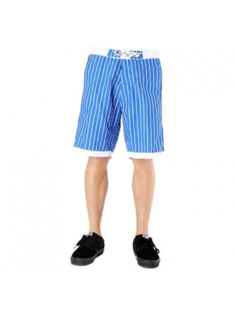 Wholesale Blue Striped Beach Men's Shorts Manufacturer