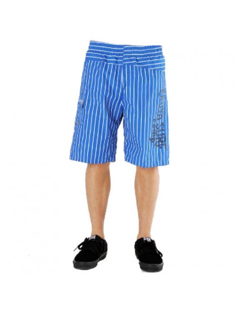 Wholesale Blue and Black Printed Beach Men's Shorts Manufacturer