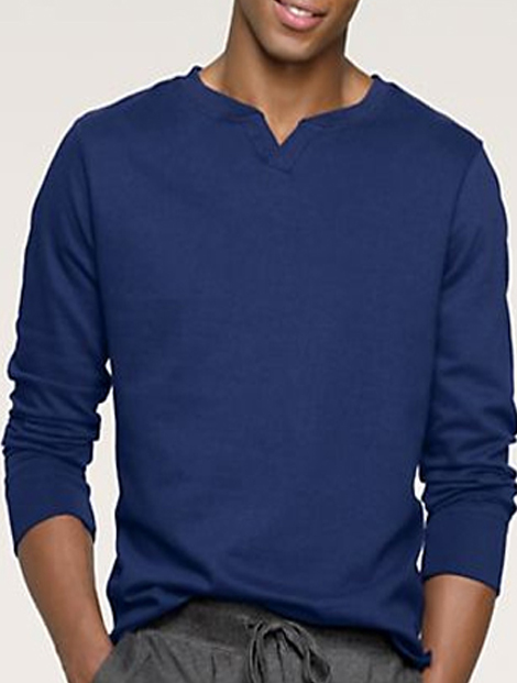 Wholesale Men's Mini V Sweatshirt Manufacturer