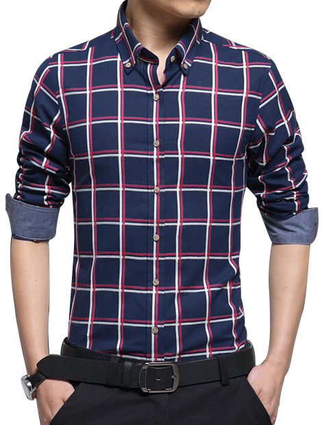 Wholesale Attractive Check Shirt Manufacturer