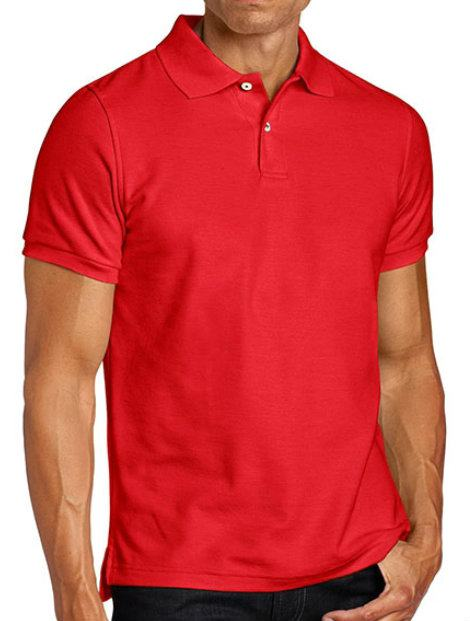 Wholesale Brick Red Polo T Shirt