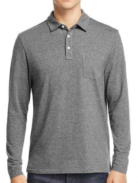 Wholesale Classy Gray Polo T Shirt