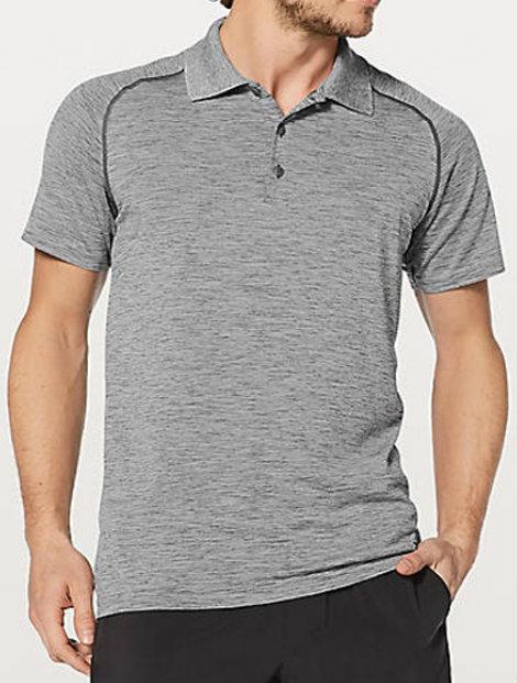 Wholesale Cool Grey Polo T Shirt