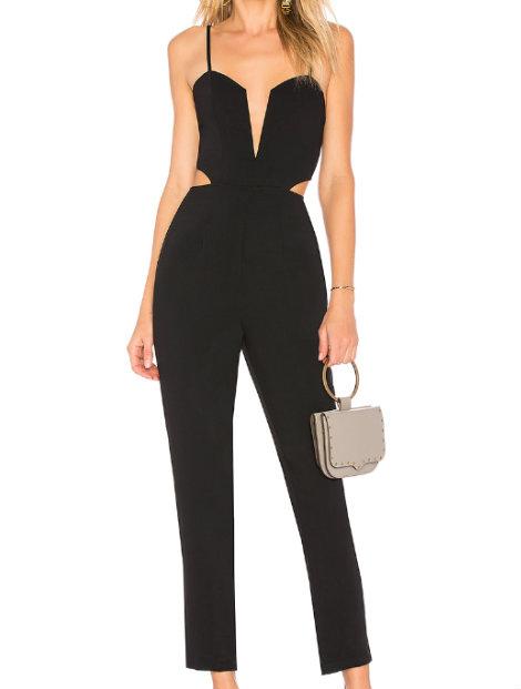 Wholesale Enticing Black Jumpsuit Manufacturer