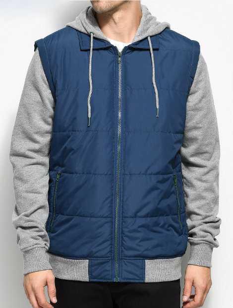 Wholesale Good Grey Hood Jacket Manufacturer