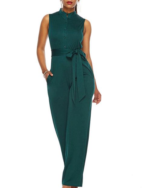 Wholesale Trendy Green Jumpsuit Manufacturer