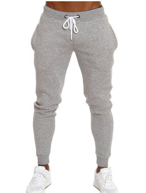 Wholesale Grey Melange Track Pant Manufacturer