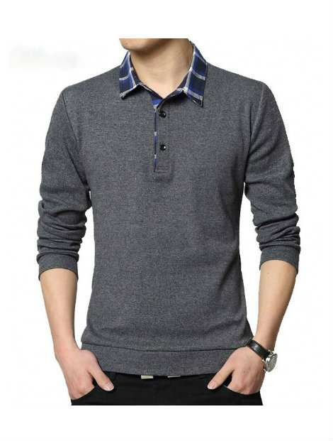 Wholesale Great Grey Polo T Shirt