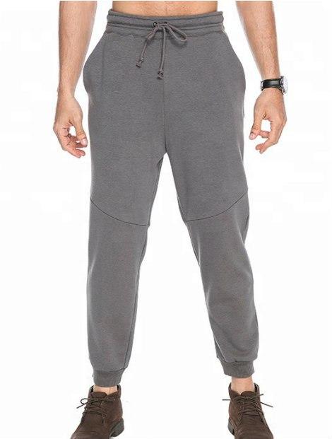 Wholesale Grey Track Pants Men Manufacturer