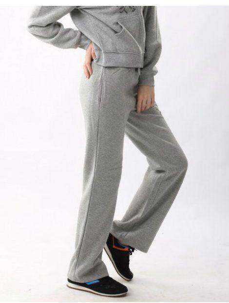 Wholesale Grey Melange Tracksuit Bottoms Manufacturer