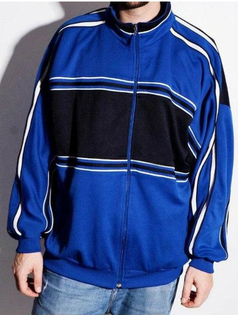Wholesale Navy Blue School Track Jackets Manufacturer