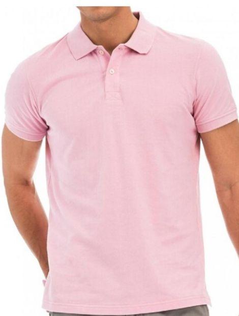 Wholesale Pale Pink Polo T Shirt