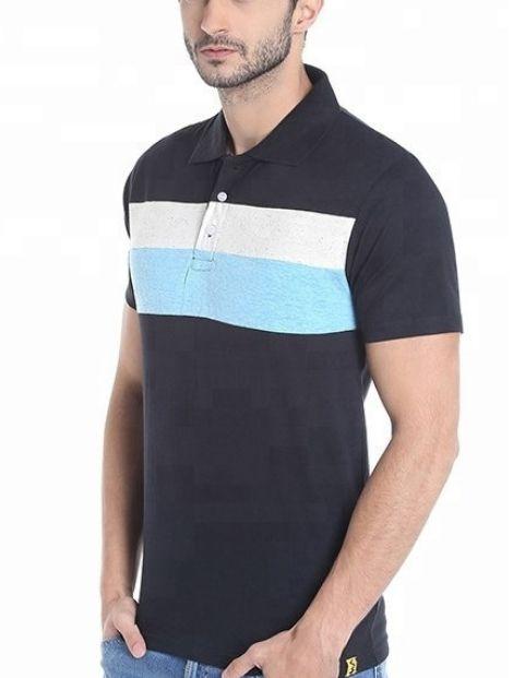 Wholesale Awesome Blue Polo T Shirt
