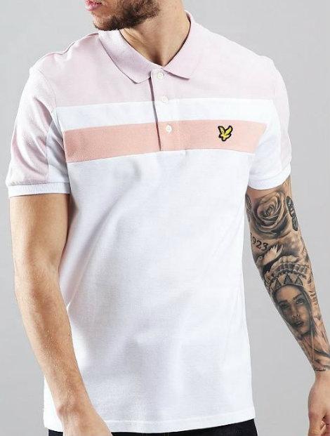 Wholesale Pure White Polo T Shirt