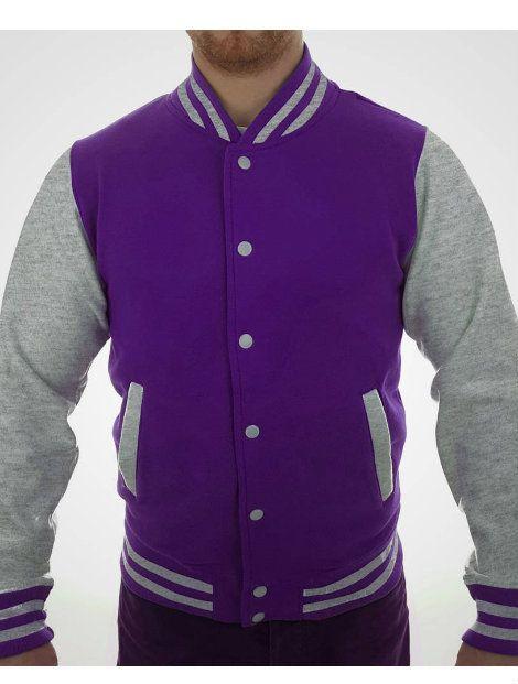 Wholesale Royal Purple Polar Fleece Jacket Manufacturer