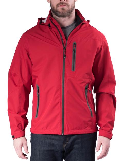 Wholesale Radiant Red Polar Fleece Jacket Manufacturer