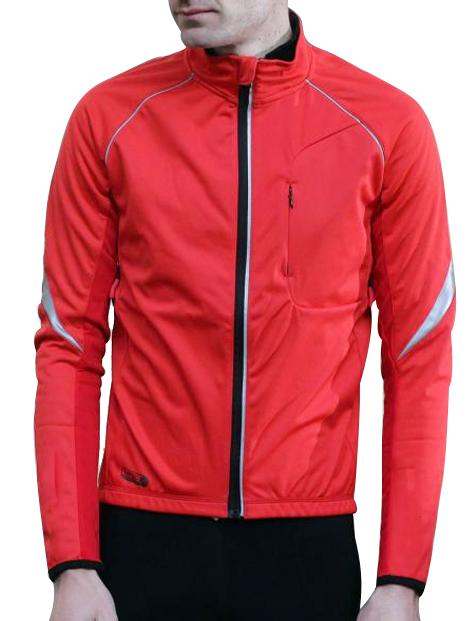 Wholesale Ravishing Red Softshell Jacket Manufacturer