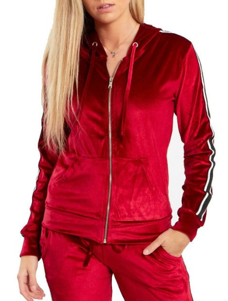 solid red tracksuit top manufacturer