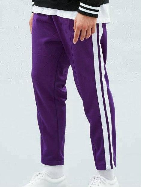 Wholesale School Purple Track Pant Manufacturer