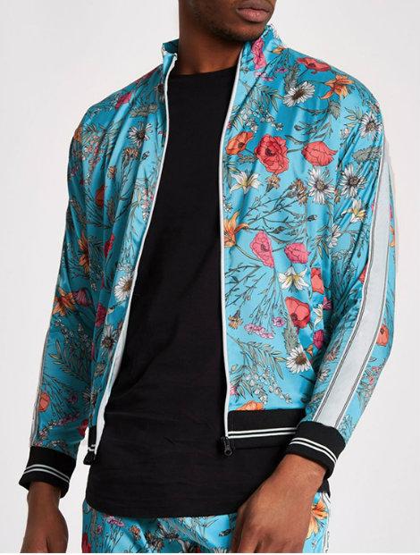 Wholesale Sky Blue Tracksuit Jacket Manufacturer