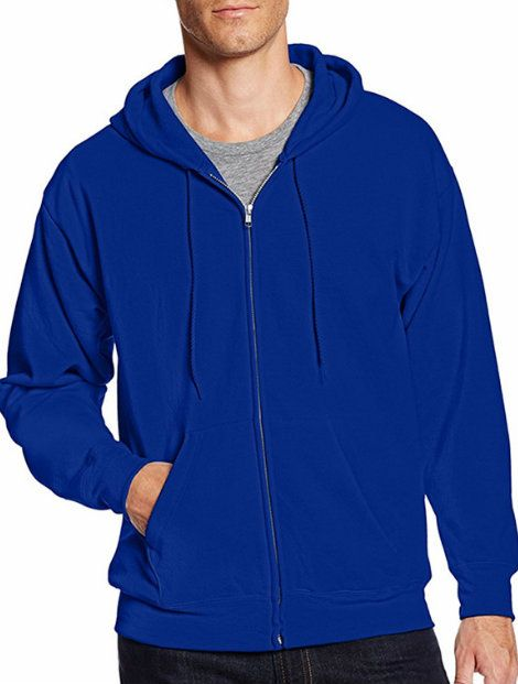 Wholesale Sleek Blue Hood Jacket Manufacturer