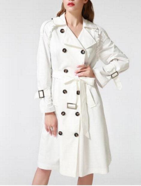 Wholesale Sophisticated White Coat