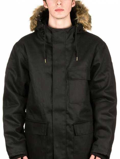 Wholesale Splendid Black Hood Jacket Manufacturer