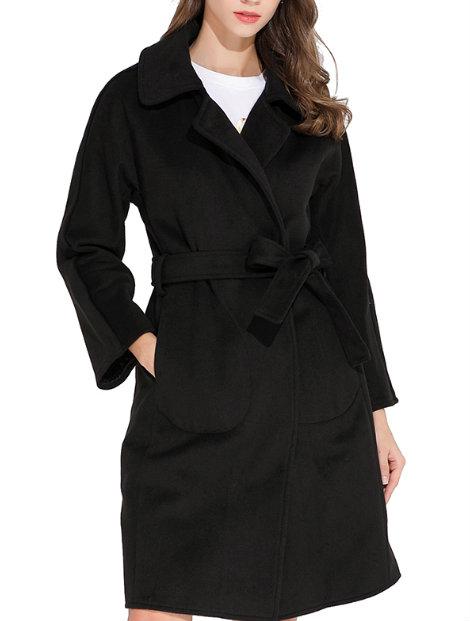 Wholesale Striking Black Coat