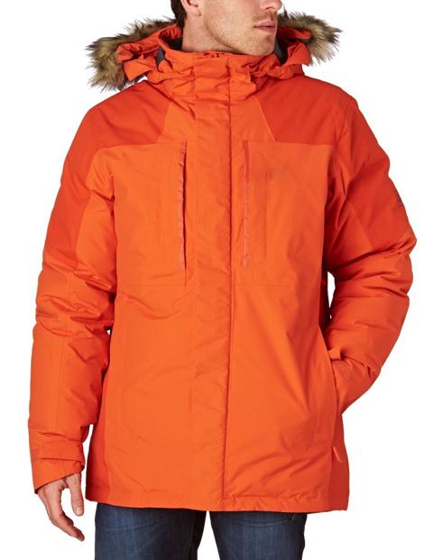 Wholesale Striking Orange Ski Jacket Manufacturer