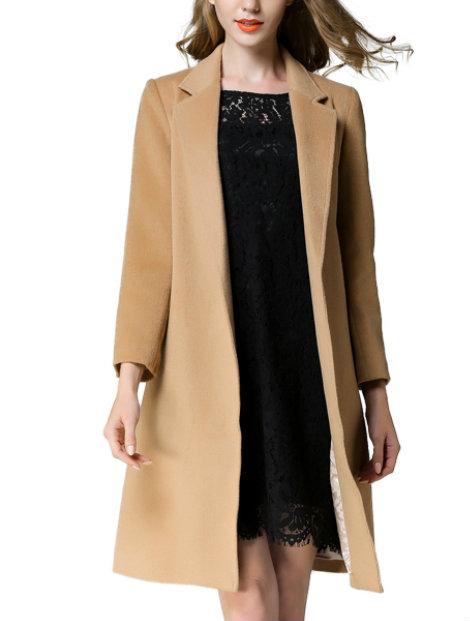 Wholesale Stylish Brown Coat