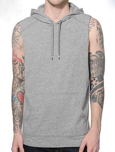 Wholesale Stylish Grey Hood Jacket Manufacturer