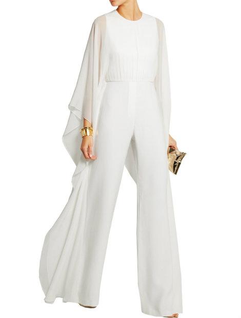 Wholesale Classy White Jumpsuit Manufacturer