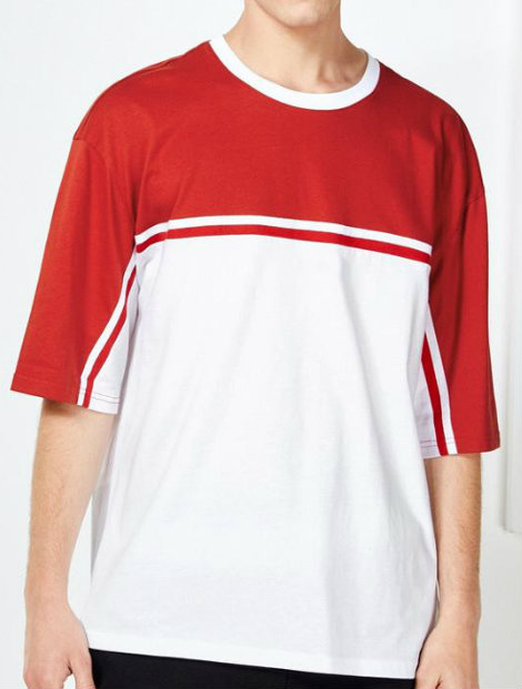 Wholesale Simple White Tee Manufacturer