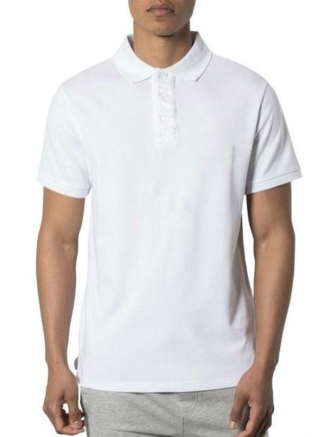 Wholesale Classy White Polo T Shirt