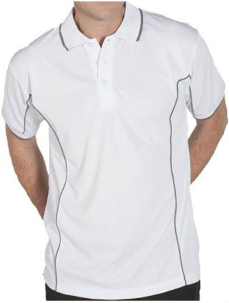 Wholesale White Polo T Shirt
