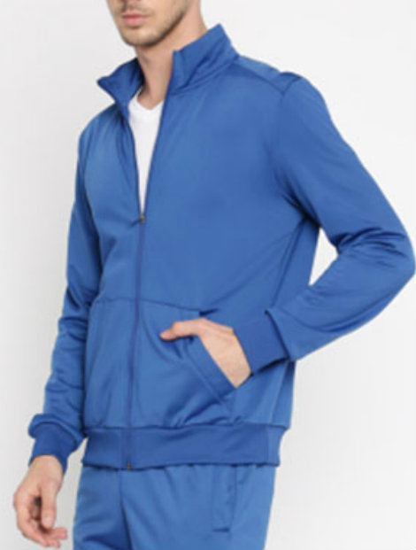 sky blue tracksuit top suppliers uk