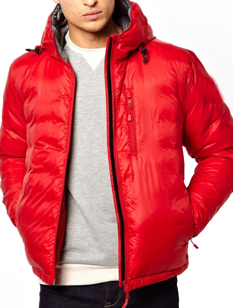 Wholesale Wow Red Hood Jacket Manufacturer